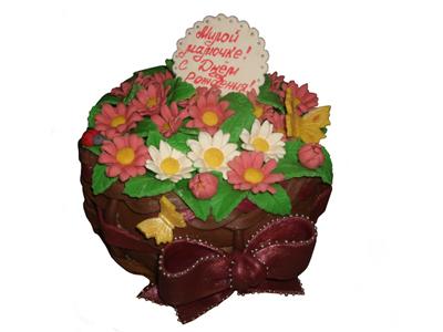 Тортик «Цветочное торжество»