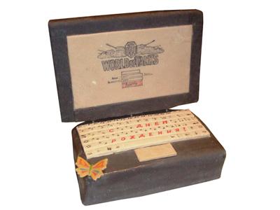 Тортик «Съедобный ноутбук»