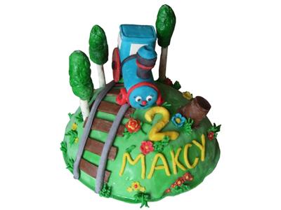 Тортик «Веселый паровозик»