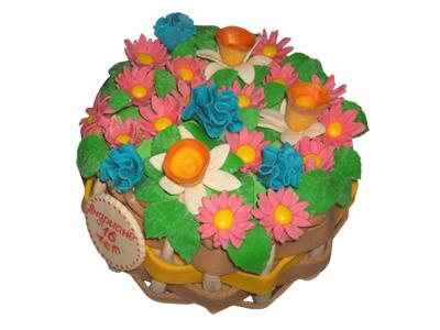 Тортик «Летняя полянка»