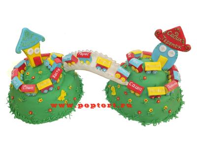 Тортик «До свидания, детский сад»